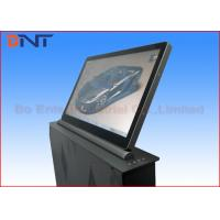 Quality Adjustable Meeting LCD Motorized Computer Monitor Lift With 18.5 Inch Touch Screen wholesale