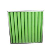 Quality Low Efficient Air Conditioner Air Filter , Metal Frame G2 G3 G4 Air Filter wholesale