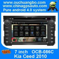 Quality Ouchuangbo Android 4.0 Car 3G Wifi GPS Navigation for Kia Ceed 2010 with S150 Radio Stereo USB RDS OCB-086C wholesale