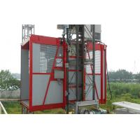 Cheap Rack , Pinion Construction Personal Material Lifting Hoist Single Cage 150m for sale