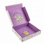 Quality Elegant Corrugated Cardboard Boxes Full Color Printing OEM Service wholesale
