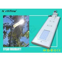 Buy cheap PIR Control All In One Solar Street Lights Outdoor For Highway 3300LM 65W from wholesalers