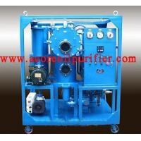 Quality Transformer Oil Purification Plant With Double Stages Vacuum Systems wholesale