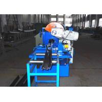 Quality Anti Fire Door Frame Roll Forming Machine With Saw Cutting Device wholesale