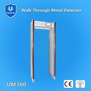Quality Walk Through Metal Detector / Arched door frame with high sensitivity 33 zones UZ800 wholesale