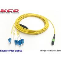 Quality MPO/APC - LC/UPC 8fo Fiber Optic Patch Cord SM G657A LSZH Cover Customized wholesale