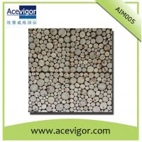 Quality Irregular arrange wood wall tile with beautiful vision for indoor decoration wholesale