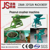 Quality 15 kw Grind Andcrush Peanut Crusher Machine 200 - 1200 kg / h wholesale