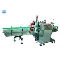 China Stainless Steel Manual Bottle Labeling Machine , Round Bottle Labeling Equipment on sale