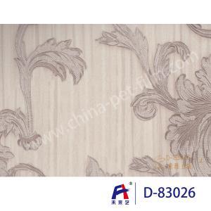 Quality PVC  Coating  Film    PVC Decorative Film  D-83026 Simple but elegant silver 0.12-0.14mm wholesale