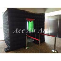Quality wonderful large inflatable event tent with red curtain, strong style inflatable photo booth for party wholesale