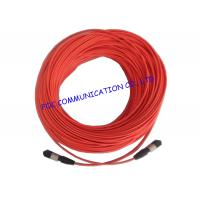 Quality LSZH Fiber Optic Patch Cord High Density Multifibre Female To Female MTP / MPO wholesale