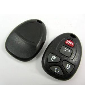 Quality GMC 5Button 315MHZ Auto Remote Key, Plastic Car Key Blanks for GMC wholesale