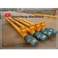 Quality Carbon Steel Fly Ash Cement Industrial Screw Conveyor 260 R / Min Speed wholesale