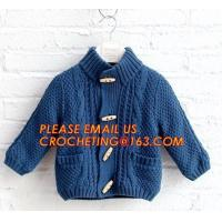 Quality New arrival british style warm childrens coat thick boys sweater, Fashionable Winter Coats Woolen Sweater Designs For Ki wholesale