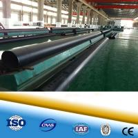 Cheap pu foam with hdpe outer casing pre insulated steel pipe for hot and chilled for sale