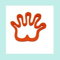 Quality hand shape silicone dinner mat ,heat resistant silicone bowl pad wholesale