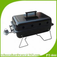 Quality High efficiency simple design balcony outdoor portable gas grill wholesale