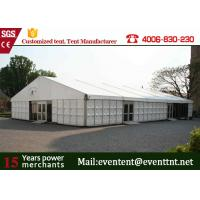 Quality ABS Hard Wall A Frame Tent Customized 12 X 12m  Business Promotion European Style wholesale