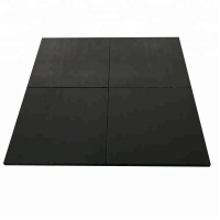Quality Environmental Friendly Gym Fitness  Workout Accessories Shock Absorption Rubber Flooring wholesale