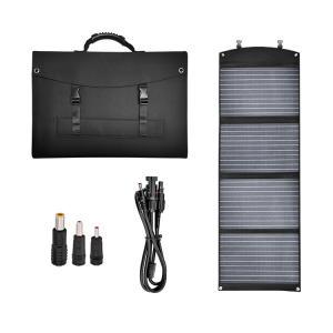 China 5V 120W Folding Mono Crystalline Solar Panel Dual USB Output For Cellphone on sale
