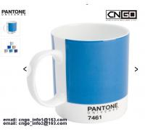 Quality 11OZ white mug PANTONE colors cup 7461 7463 Color numbers ceramic mug wholesale
