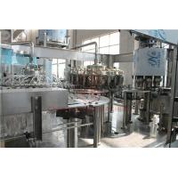 Quality Rotary Type 3 In 1 Combi Automatic Liquid Filling Machine For Plastic Bottle wholesale