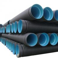 Quality High quality and cheap corrugated high-density polyethylene (hdpe) pipe wholesale