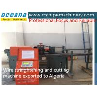 Cheap High Performance Automatic Wire Straightening And  Cutting Machine Manufacturer for sale