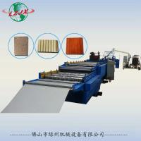 Quality LZ-908 Pu sandwich panel, roof panel and wall panel production line wholesale