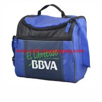 Quality Customized blue durable lunch tote bag drinks carrier for outdoors wholesale