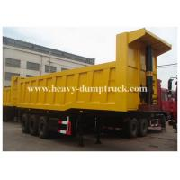 Hydraulic Lifting Trailers : Cheap hydraulic lifting tons grapple three axles dipper