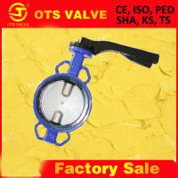 Cheap butterfly valve DN80 from CE plant for sale