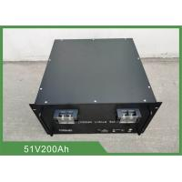 Buy cheap Telecom Back up Battery 51.2V 200Ah Lifepo4 battery 19'' Rack from wholesalers