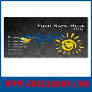 China carbon fiber business card on sale