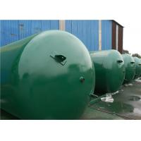 Quality ASME Approved Horizontal Air Receiver Tanks For Air Compressors Systems wholesale