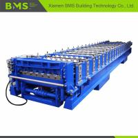 Quality Corrugated Roof Roll Forming Machine , Corrugated Roof Iron Sheet Making Machine wholesale