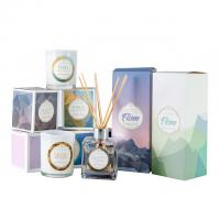 Quality HOT Selling scented candles & reed diffuser fragrance gift set with glass bottle wholesale