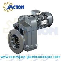China 20HP 15KW F Series Shaft mount speed reducer, Shaft mounted gear reducers Specifications on sale