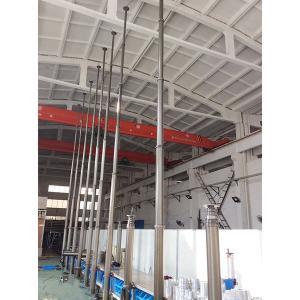Quality 9m Security Camera Mounting Pneumatic Telescopic Masts-CCTV Telescopic Mast-China PHTmast wholesale