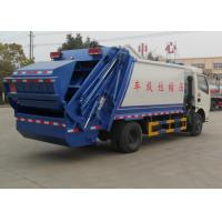 Quality Compact Garbage Collection Truck 6cbm For Non - Toxic Waste Transportation wholesale