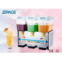 Quality Commercial Cold Drink Dispenser Machine with Three Tanks High Output wholesale