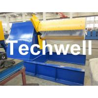 Quality Custom Hydraulic Auto Recoiler Curving Machine With 0 - 15m/min Rewind Speed wholesale