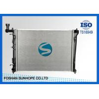 China Oil Cooler Hyundai Car Radiator 16AT , 2007 Hyundai Elantra Radiator Plastic Tank HYU054 on sale