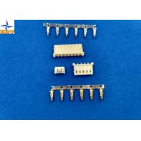 Quality Sigle Row molex 5264 equivalent Wire To Board Connector, 2.5 Mm Pitch Crimp Connector wholesale