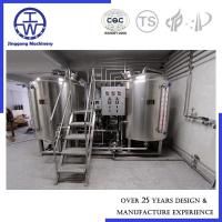 Quality 500L Alcohol Craft Beer Brewing Equipment Polyurethane rockwool Insulation wholesale