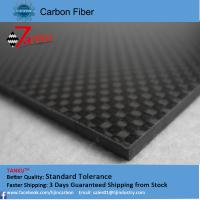 Quality 2.0mm thickness 500mm width carbon fiber plate laminated sheet wholesale