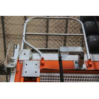 Cheap SINEE 55 kw Inverter Building Material Hoist with 400kg Lifting Device on Cage Top for sale