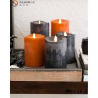 Quality Flame LED wax fall Candle of natural beauty and beautiful autumn colors wholesale