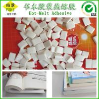 Quality EVA Based Polyester Hot Melt Adhesive , Hot Melt Pellets Glue For Perfect Binding wholesale
